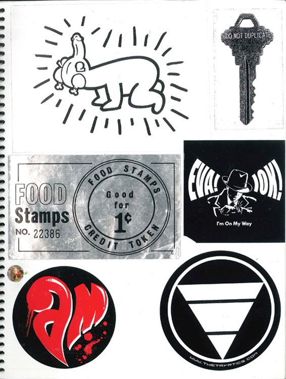 Page #38- Sticker Collection