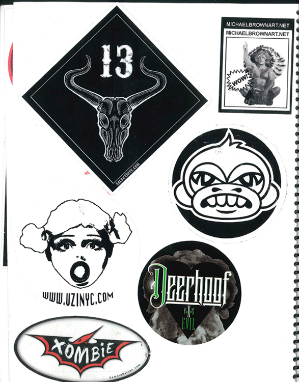 Page #39- Sticker Collection