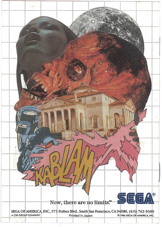 Kablam - Sega (Physical Collage - 2015)