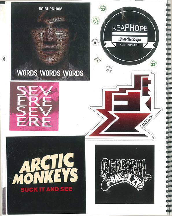 Page #51 - Sticker Collection