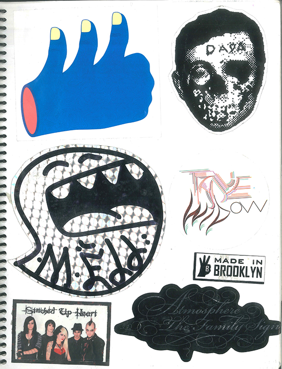 Page #52 - Sticker Collection