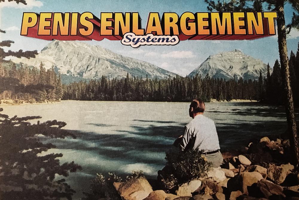 Penis Enlargement Systems: Variation #2 (AnalogCollage - 2016)