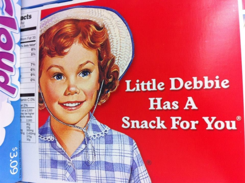 Little Debbie (Women of the Supermarket - Photo by: Morgan Jesse Lappin)
