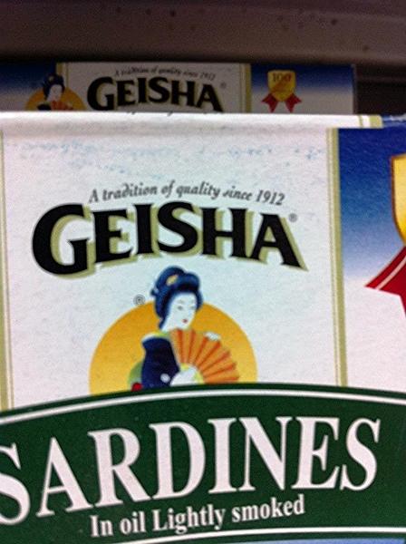 Geisha (Women of the Supermarket - Photo by: Morgan Jesse Lappin)