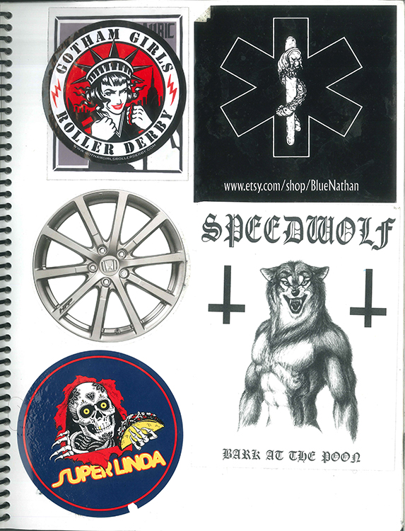 Page #41 - Sticker Collection