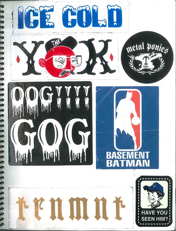 Page #68 - Sticker Collection