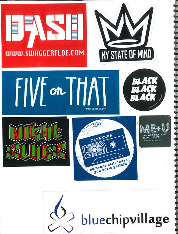 Page #69 - Sticker Collection