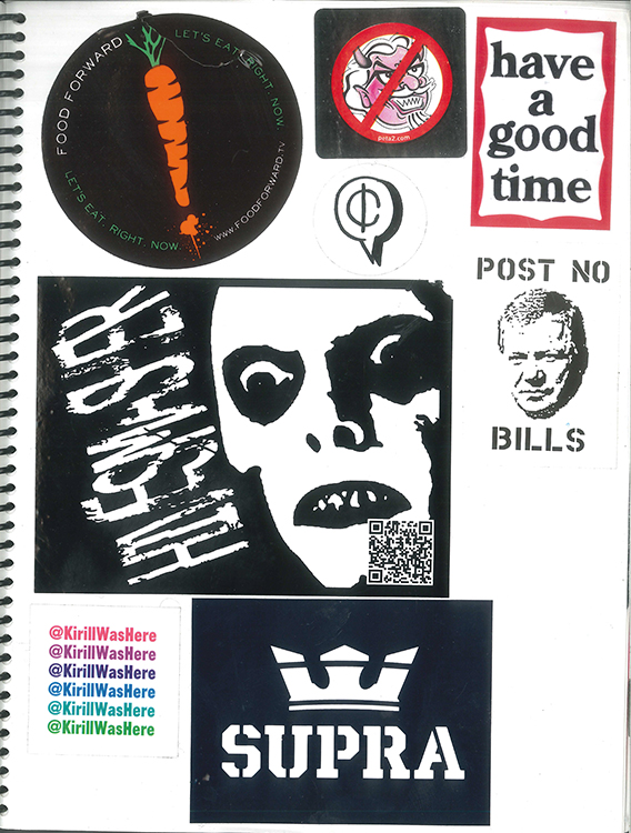 Page #74 - Sticker Collection