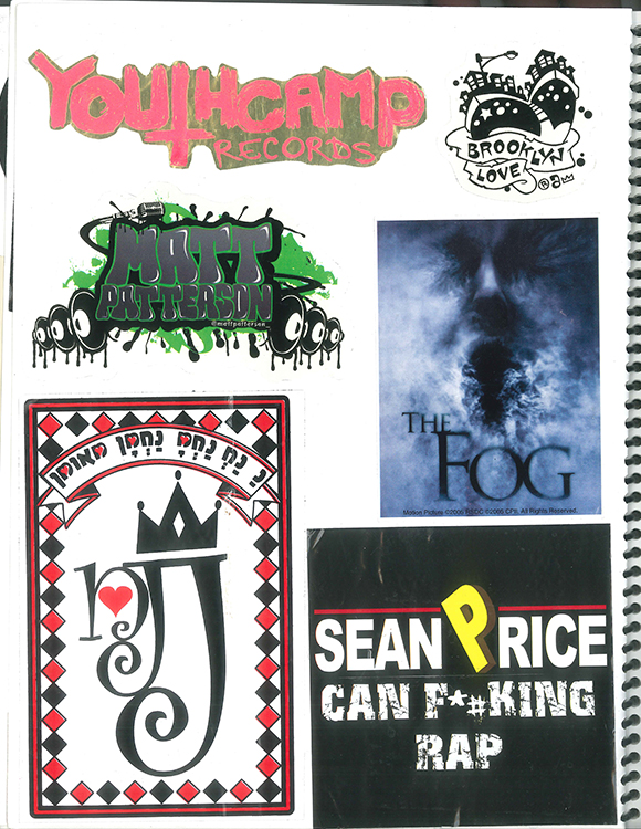 Page #85 - Sticker Collection