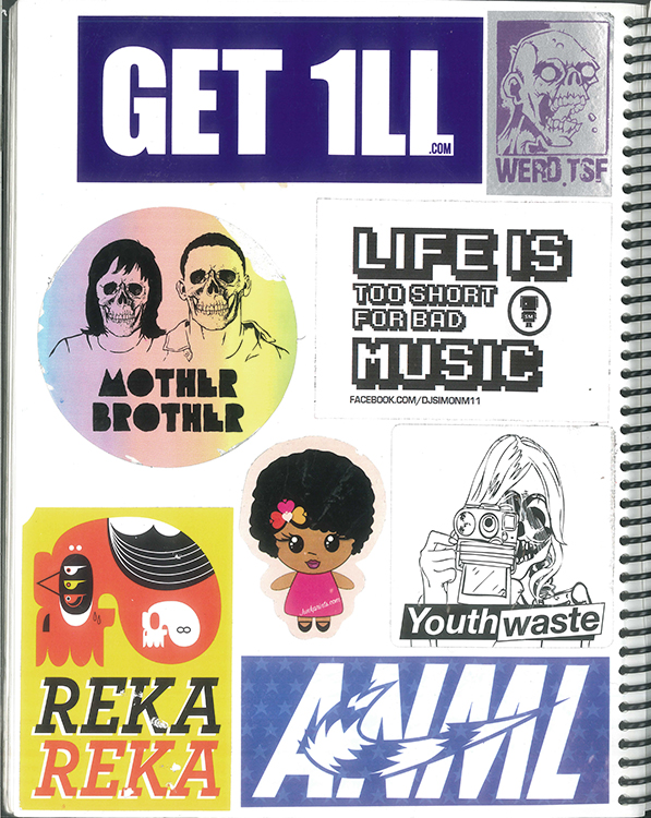 Page #91 - Sticker Collection