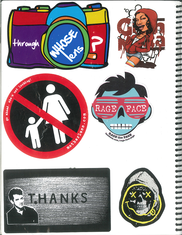 Page #93 - Sticker Collection