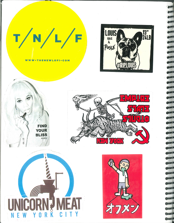 Page #97 - Sticker Collection