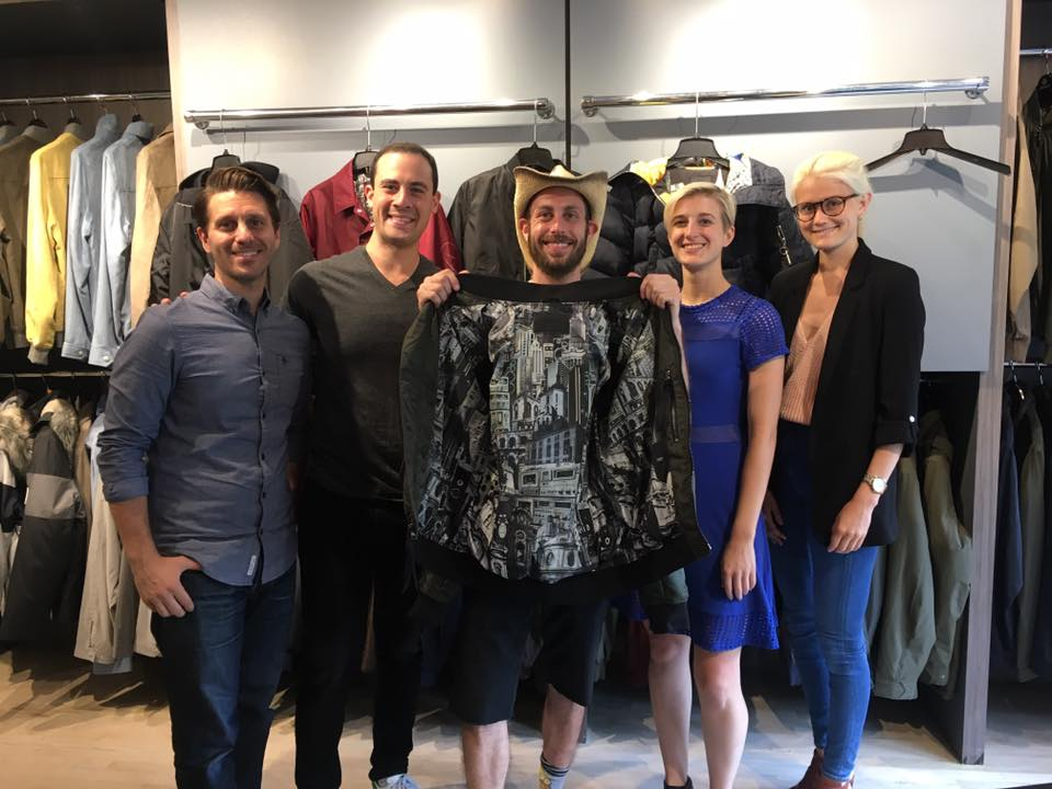 Thanks to a great friend and amazing human Avi Gitler (Of the gallery known as Gitler&____) I was teamed up with the crew of The Very Warm to come out with a line of men & women jackets which will be available in October 2017 in Nordstrom stores all over. However, the Coach Jacket design will be on sale online beginning in September. More news to come!