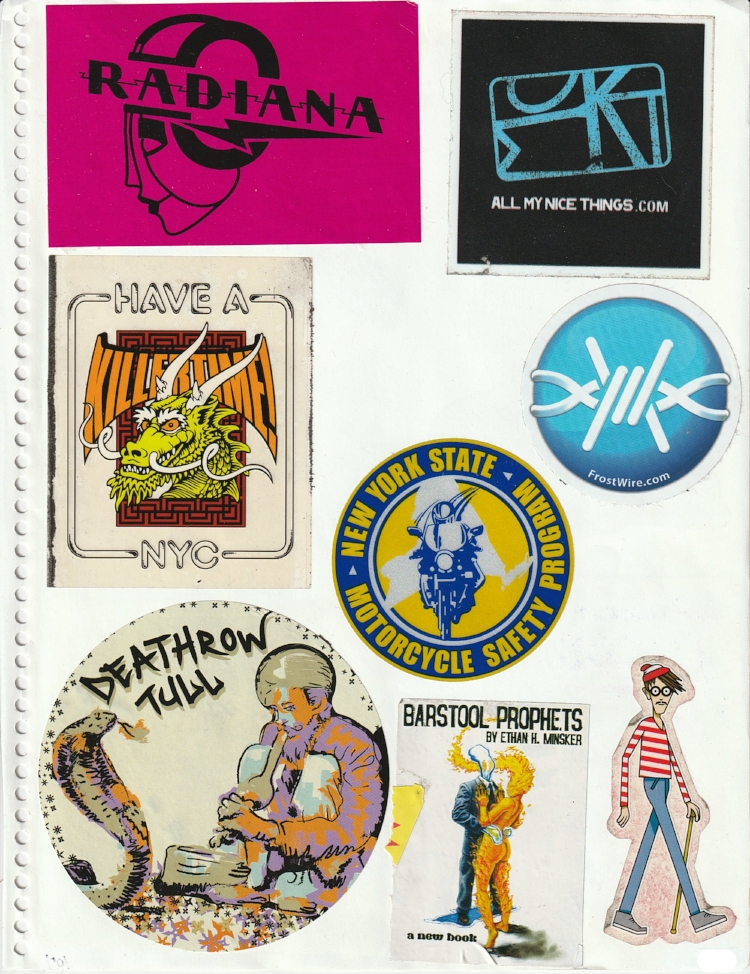 Page #102 - Sticker Collection