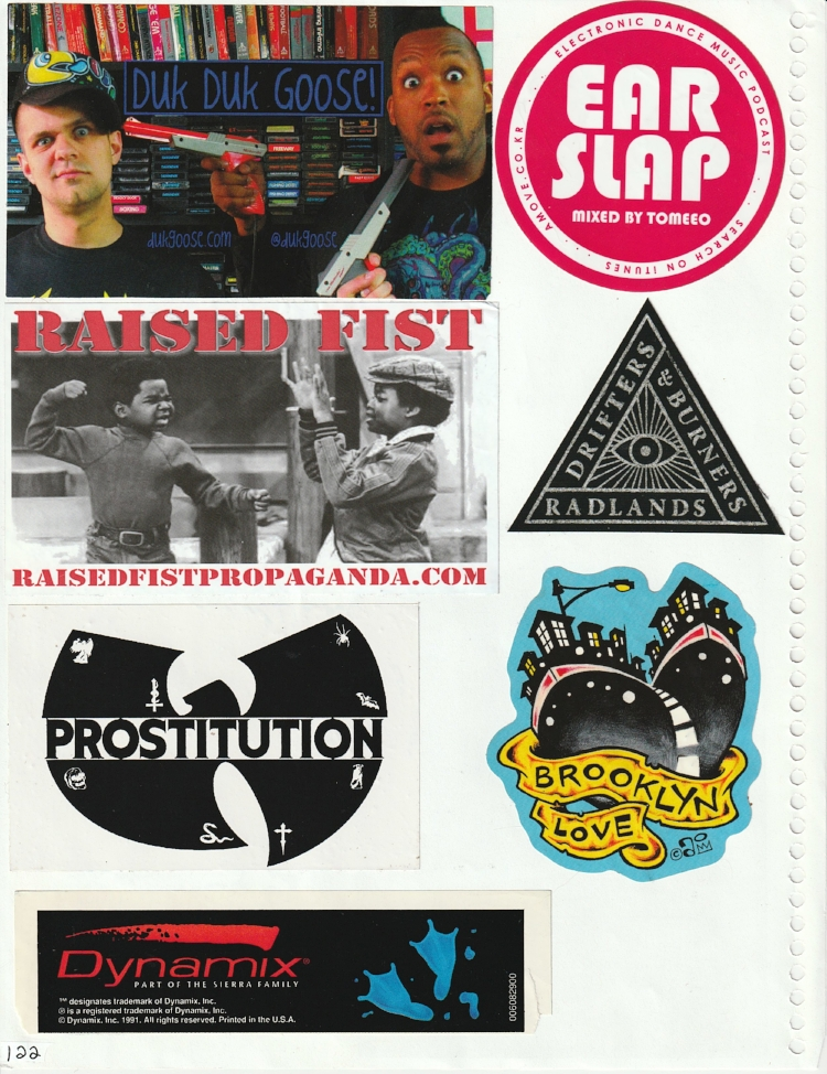 Page #117 - Sticker Collection
