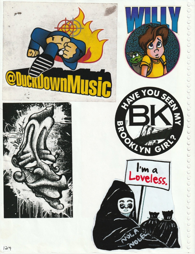 Page #119 - Sticker Collection