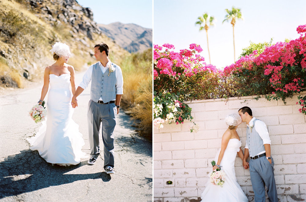 Palm Springs, Ca Bride and Groom Portraits