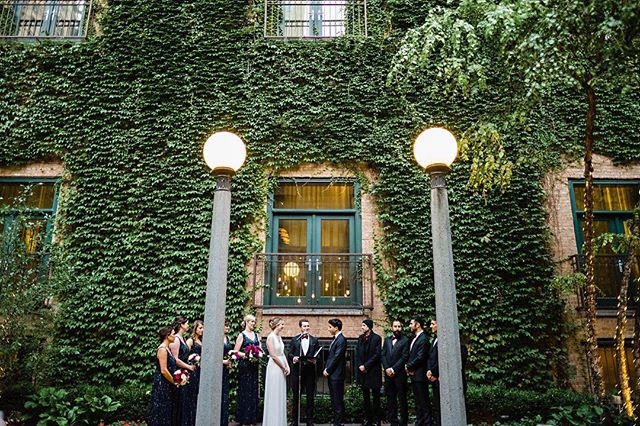 How awesome is this ceremony space at @ivyroomchicago? Such a perfect setting for Serhan and Margaret's #chicago wedding. . . . . . #chicagowedding #chicagoweddingphotographer #weddingphotography #weddingphotographer #brideandgroom #bride #groom #loveauthentic #makemoments #junebugweddings #portrait #ryantimmphotography #weddinginspiration #moments #love #togetherforever #instawedding #firstandlasts #theivyroom #weddingceremony #outdoorweddingceremony