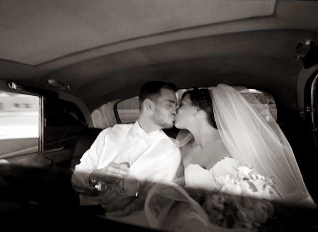 Photography and story telling doesn't always have to be crisp sharp photos. Sometimes it's ok to have a little motion blur. It helps convey emotion. I need to remind myself of that for this year's wedding season.  Here @annalentini7 and @mlentini7 share a kiss right their ceremony in a vintage #rollsroyce. . . . . . #chicagowedding #chicagoweddingphotographer #weddingphotography #weddingphotographer #brideandgroom #bride #groom #loveauthentic #makemoments #junebugweddings #ryantimmphotography #weddinginspiration #moments #love #togetherforever #instawedding #motionblur #rockfordillinois #rockfordweddingphotographer #rockfordwedding #thegetaway