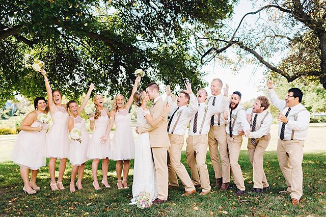 I love trying to capture the spontaneity of the bridal party during our photo session. My goal is to always deliver a fun and engaging session during the wedding day with the bridal party! I know not everyone loves to be in front of the camera, so having fun is always at the of my priority list! . . . . . #chicagoweddingphotographer  #rockfordwedding #rockfordweddingphotographer #weddingphotography #weddingphotographer #bridalpartyphotos #bridesmaids #groomsmen #2020bride #loveauthentic #makemoments #junebugweddings #portrait #ryantimmphotography #weddinginspiration #moments #love #togetherforever #instawedding #firstandlast #wedchicago #instaproofs #midwestwedding #coloradoweddingphotographer #californiaweddingphotographer #bridalpartygoals #brides #stylemepretty #marthastewartweddings