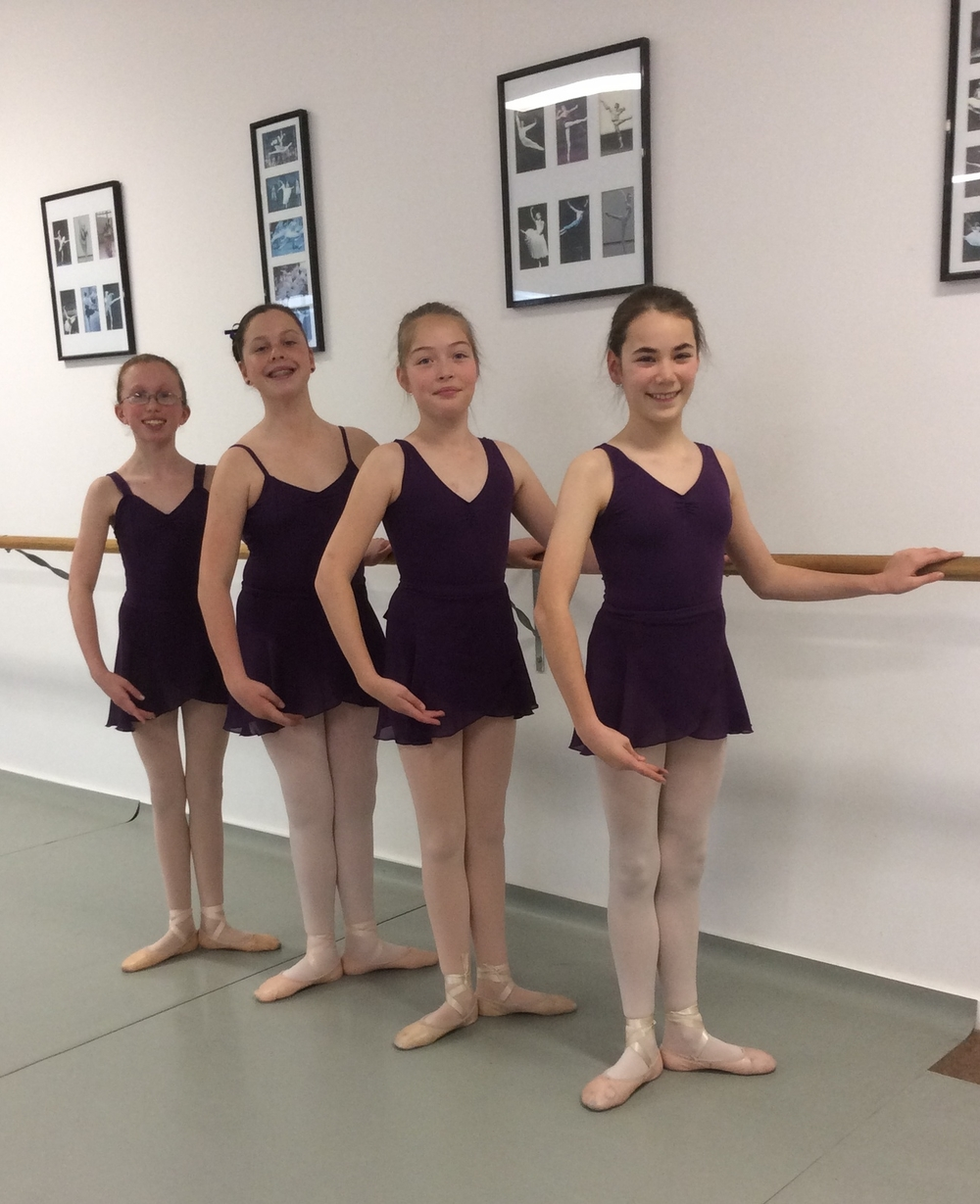 Grade 5 /6 Cecchetti Colour in the 3 different styles
