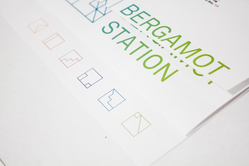 BERGAMOT STATION  Transmedia / Identity System / Print