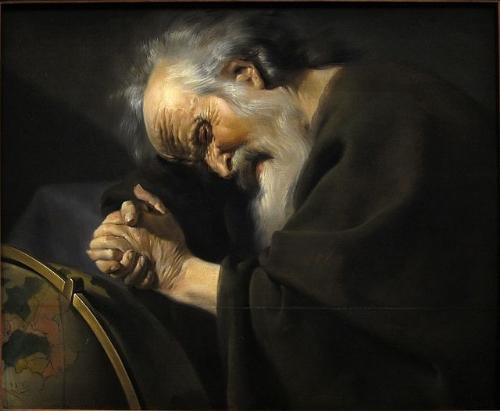 Here's Heraclitus getting super deep on it.