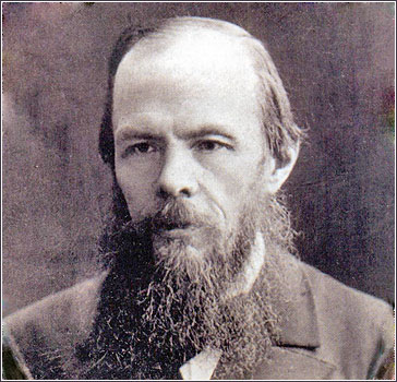 """I am a sick man. ... I am a spiteful man. I am an unattractive man. I believe my liver is diseased. "" - Notes From Underground, Fyodor Dostoevsky"