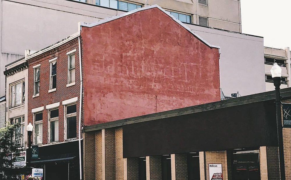 You won't be able to miss Dan's mural going up at 313 Market Street.