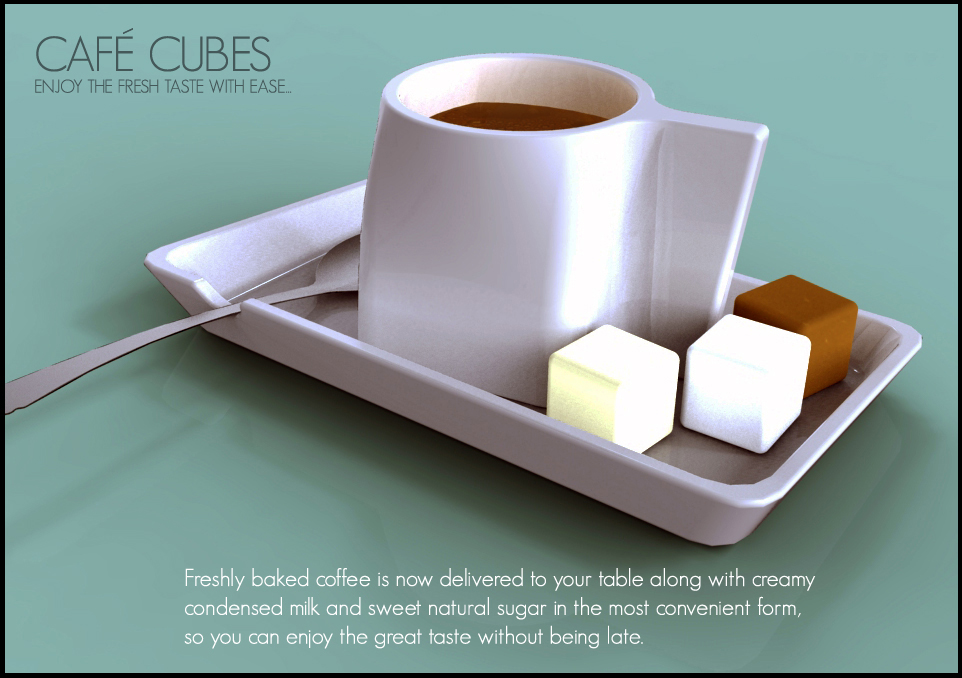 Café Cubes - Coffee in cube forms