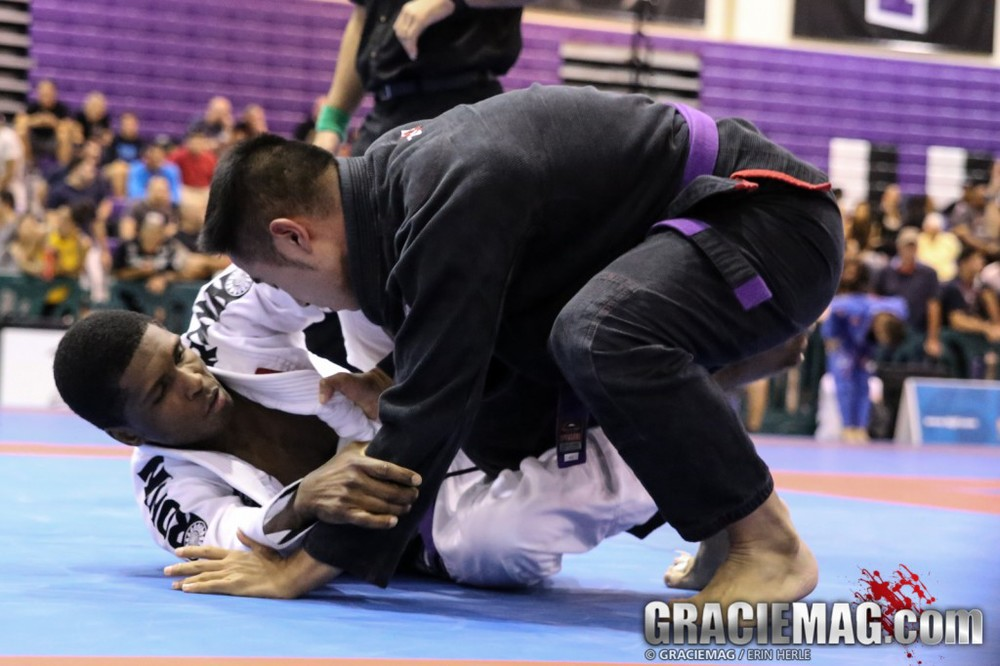 A picture of my BJJ match at the 2014 New York Summer Open. Brazilian Jiu-Jitsu has definitely changed my life positively.