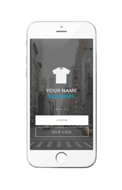 branded white label dry cleaning app