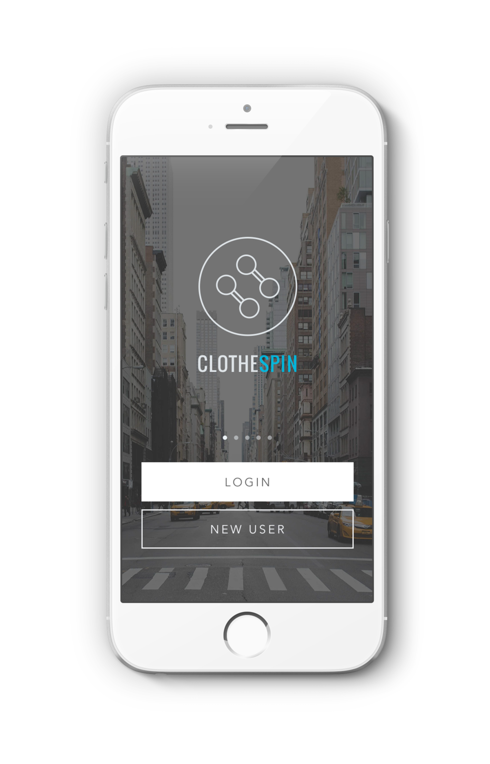 clothespin mobile dry cleaning app
