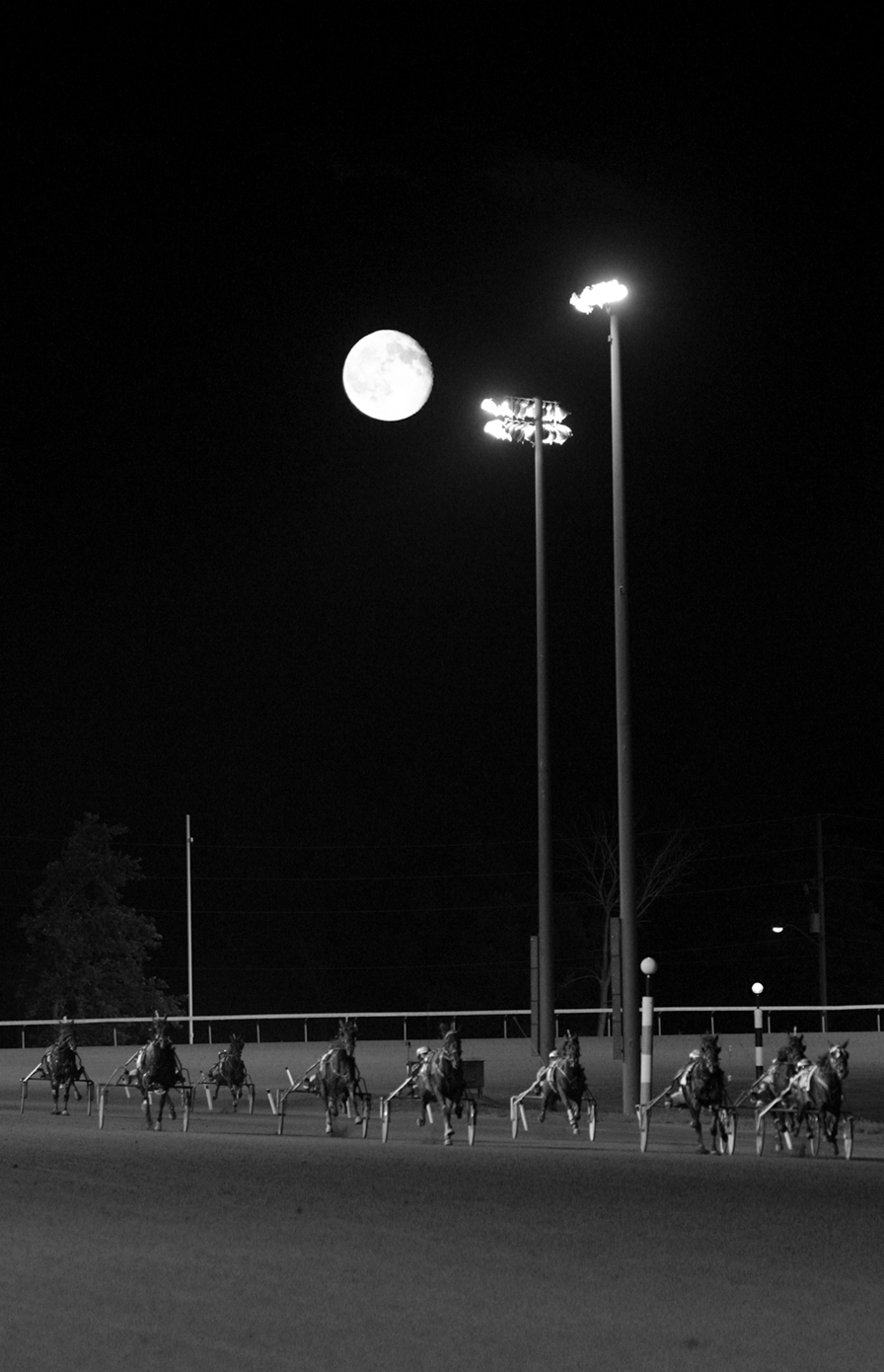 Fullmoon at the Track - bw.jpg