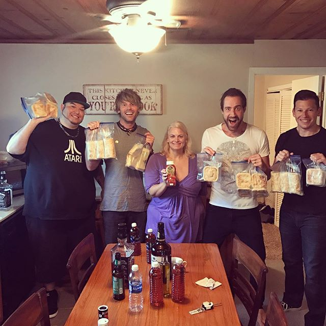 Anyone know where we can get a meat pie or sausage roll??!?! WE GOT SUM!! Huge thanks to Mary for the amazing hook up! #meatpiesfordays #shelikestheladies  #destinflorida  #ajs  #tomatosause  #australianbakery