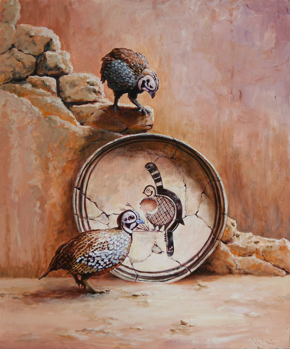 Tiny Watchers - Montezuma Quail