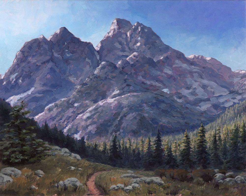 Grand Tetons - Cascade Trail