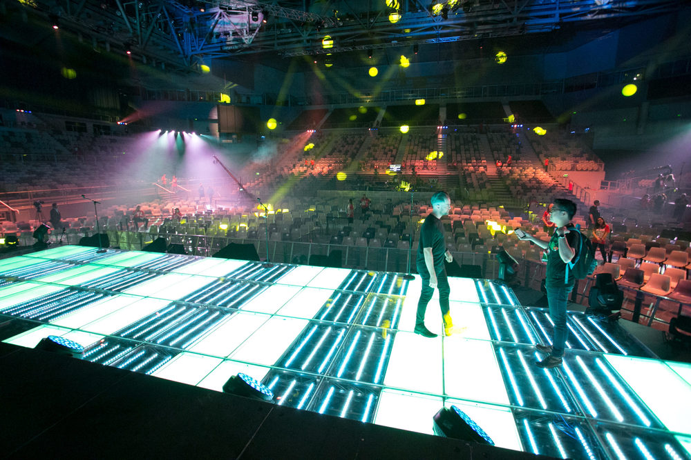 Planetshakers Stage 2015 LED