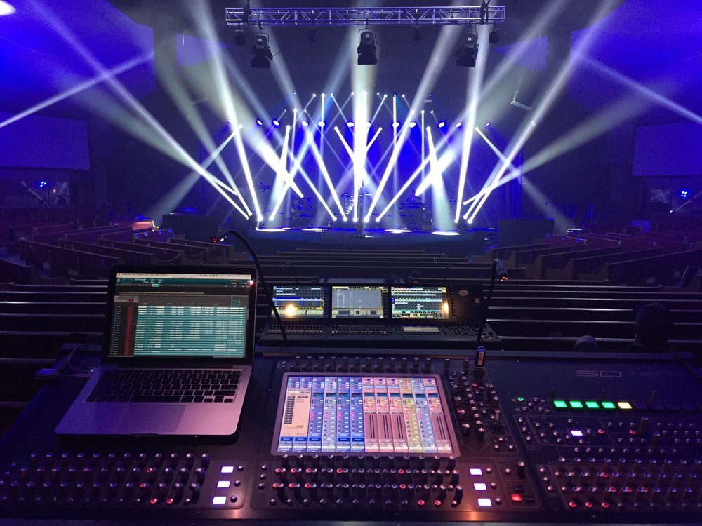 BJ Putnam Love Like Fire Console Digico SD10 Nick Burns Forefront Productions.jpg