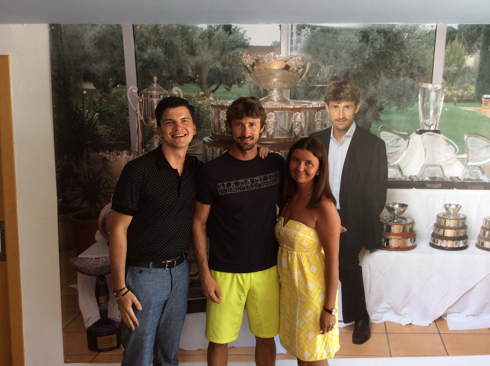 SportCampTravel with Former Former World Number 1 Tennis Player Juan Carlos Ferrero