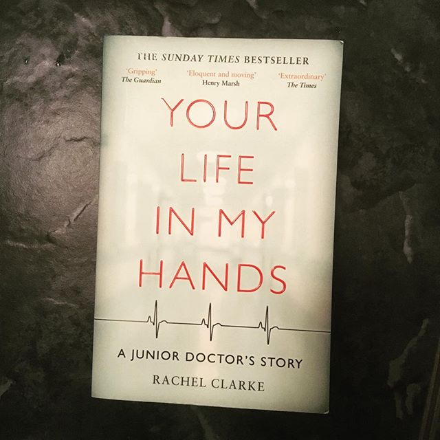 We love this book by the excellent Dr Rachel Clarke 'Your Life in My Hands' #medicalbooks #mustread #juniordoctors #nhs