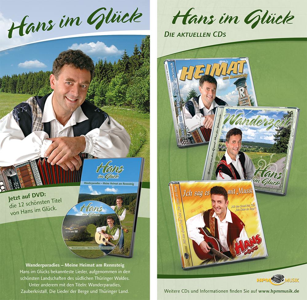 Flyer Hans Im Glück DVD Wanderparadies   →
