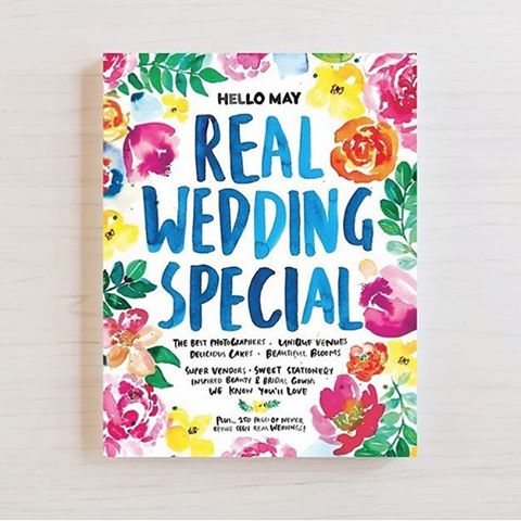 Boom! One of our weddings has been featured in @hellomaymagazine Real Wedding Special! Pick up your copy and take a look at Anna and Dan's wonderfully colorful wedding held at @two_ton_max