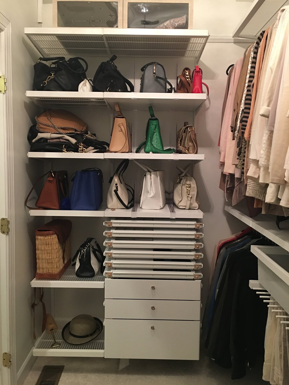 Fashionista Closet After