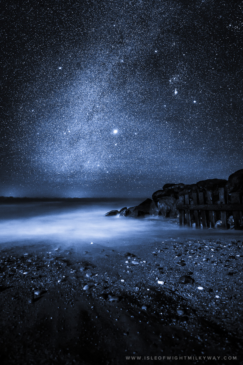 """Midnight Blue""   Image by Chad Powell     www.isleofwightmilkyway.com"