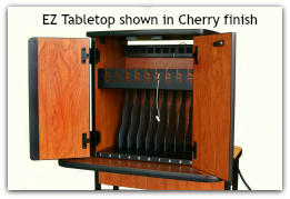 EZ Tabletop shown in cherry finish