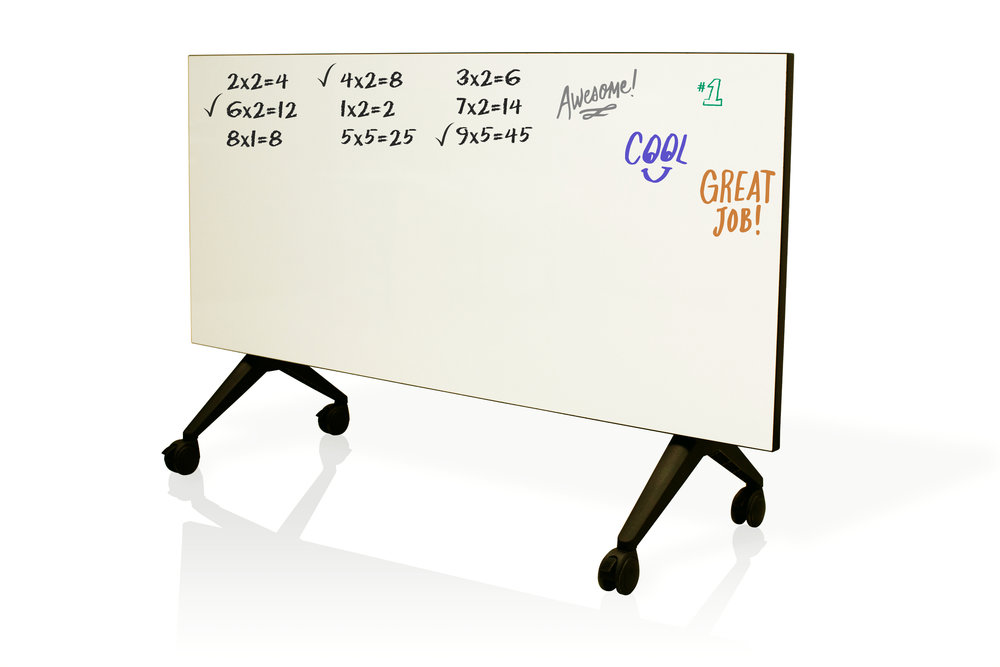 The Dry EraseTilt Table - Encourage. Create. Display.Show and tell will never be the same with our dry erase tilt table! By giving students the freedom to write, draw or solve problems on a dry erase surface, it cultivates creativity and encourages students to become more confident in their work.The tilt feature of this table is an added bonus for teachers and students, serving as a great way to display student work or to instruct from!