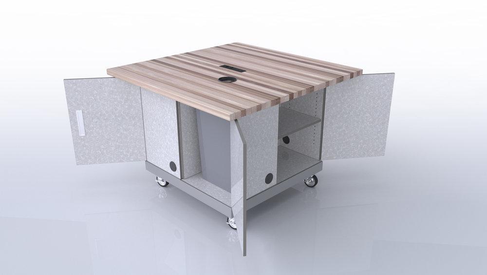 CEF Quad Pod