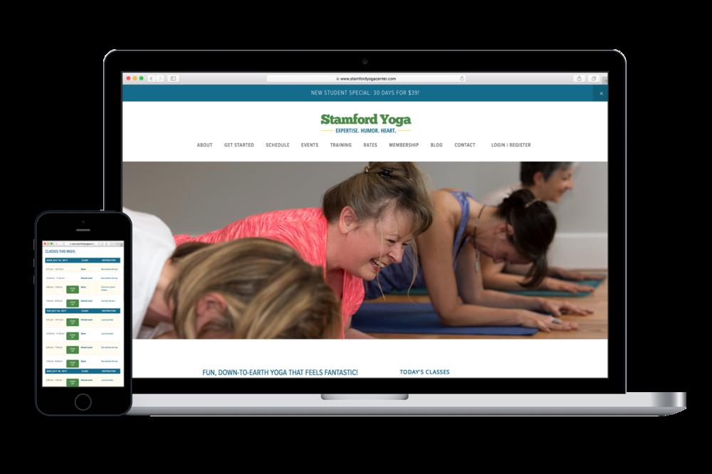 Yoga Studio website design | Elements Yoga