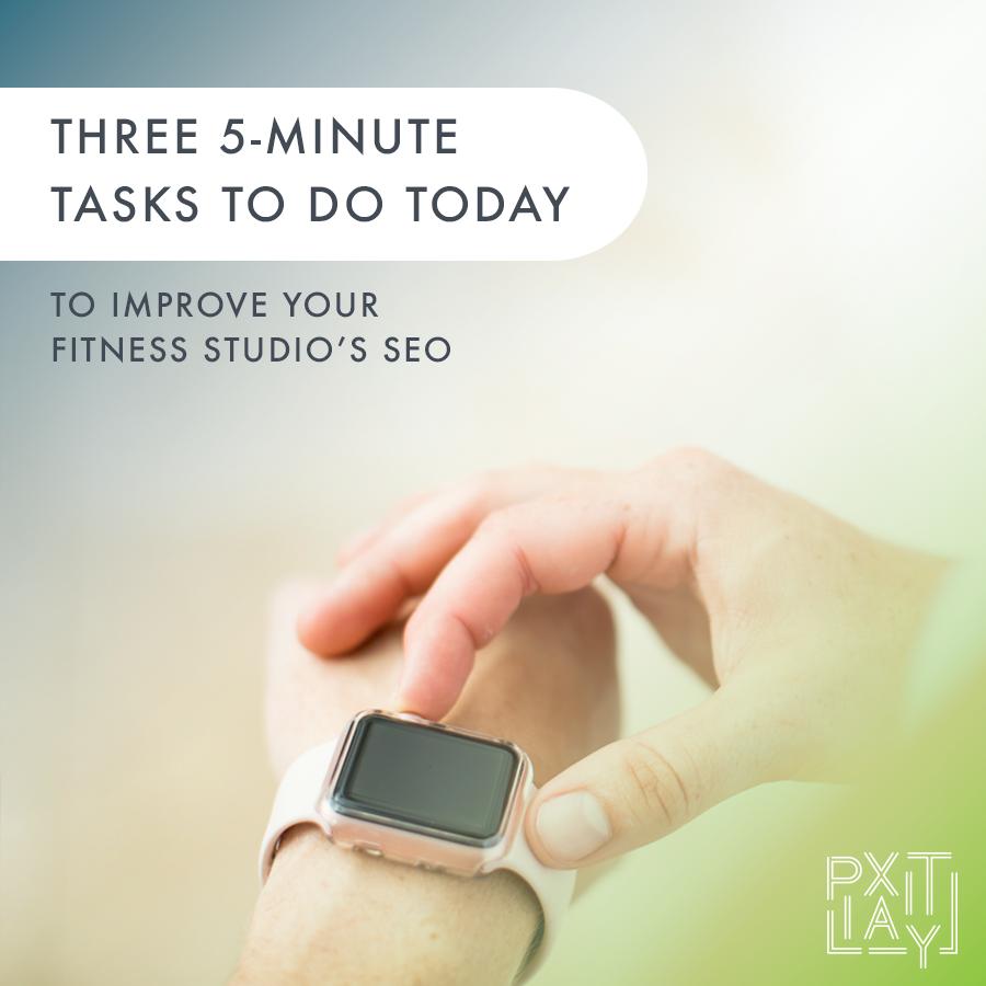 How to improve fitness studio SEO
